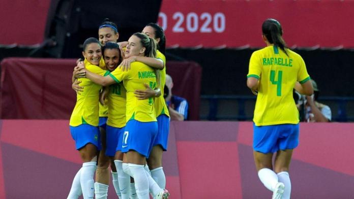 Brasil China, BRASIL NI SE DESPEINÓ ANTE CHINA