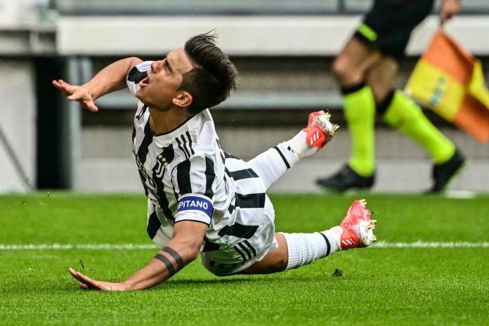 Juventus Dybala, LESIÓN DE DYBALA EN VICTORIA DE JUVENTUS