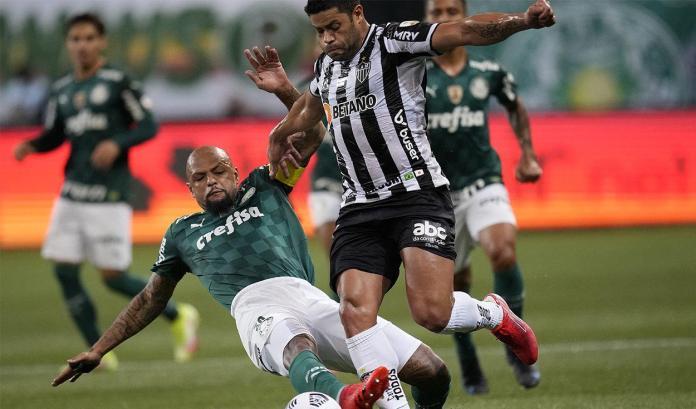 Palmeiras Mineiro, PALMEIRAS Y MINEIRO IGUALARON SIN GOLES