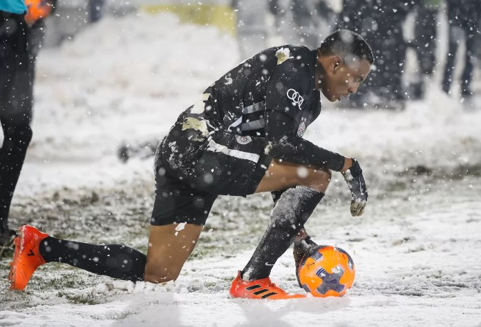 Leandre Tavamba sneg