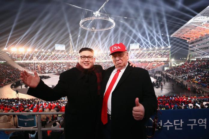 Tramp Kim Džong Un