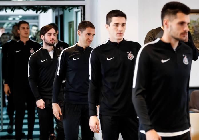 Prozivka u Zemunelu: Partizan počeo pripreme za nastavak sezone