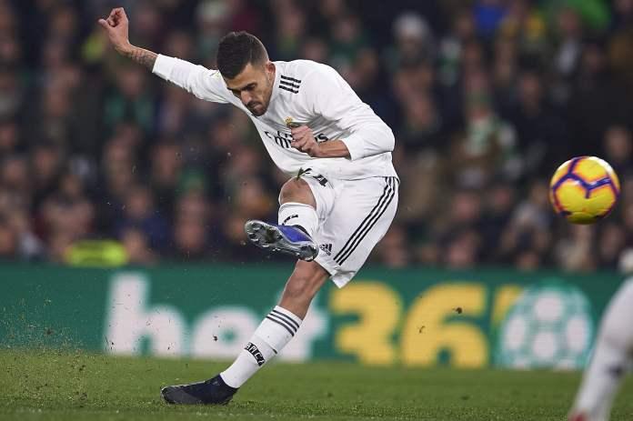 Real Madrid Dani Sebaljos