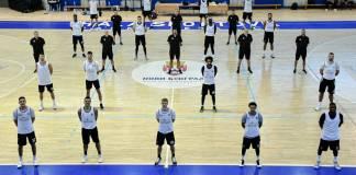 Košarkaši Partizana nalaze se u Hali sportova (FOTO: KK Partizan)