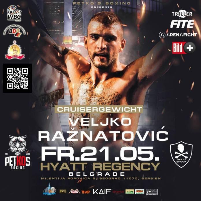 KONAČNO U RINGU! Ražnatović boksuje protiv Rusa u Beogradu