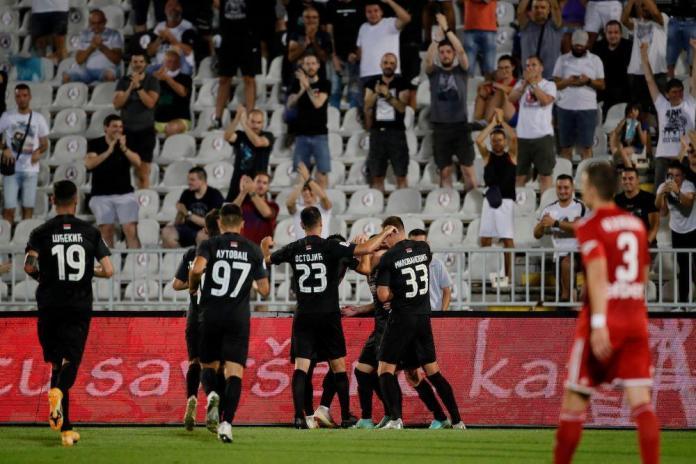 partizan-voždovac-super liga srbije-rezultat-golovi