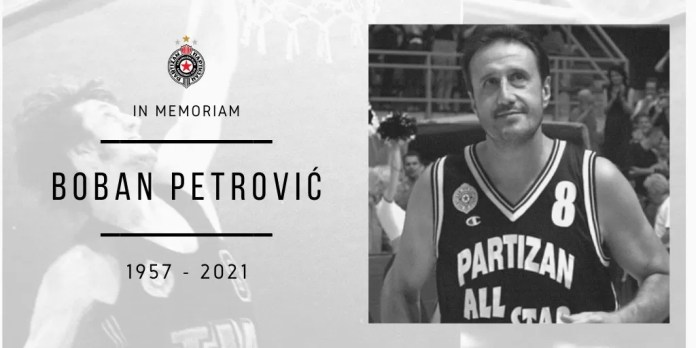 boban-petrović-partizan-košarka