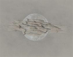 Nightfish by Derek Bond, Limited Edition print from original egg tempera painting on Ingres paper.