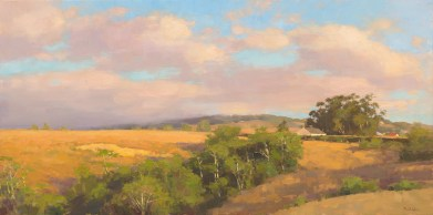 Jim McVicker, Summer Glow, 18x36, oil on linen.