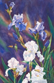 Spring Memories – by Linda Parkinson, Limited Edition print from original watercolor.