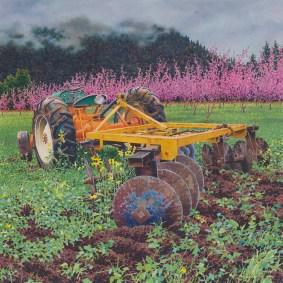 Alan Sanborn, watercolor, 2010.
