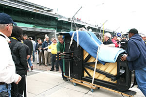 Indy 500 Piano Delivery
