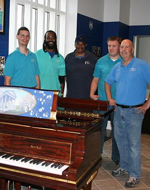 Meridian Piano Movers Crew
