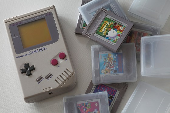 Game Boy - nostalgia