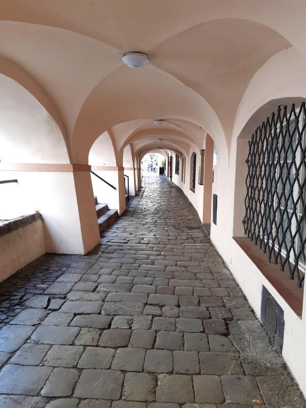 Praga - portici