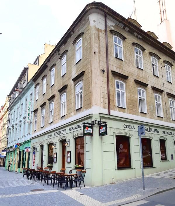 Myslikova Restaurance - Praga - 2