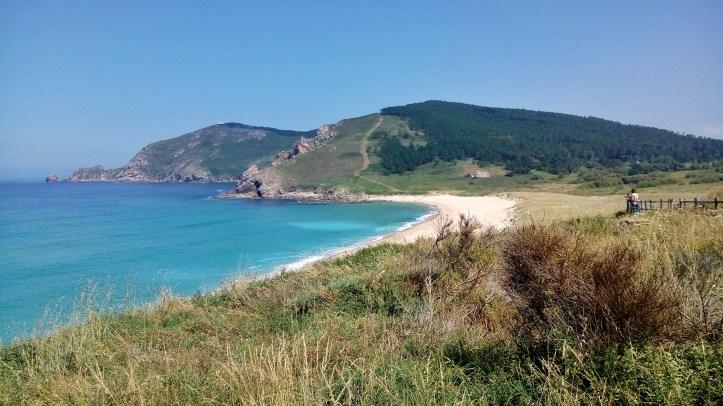 Cammino portoghese Porto Santiago - lungo l'oceano