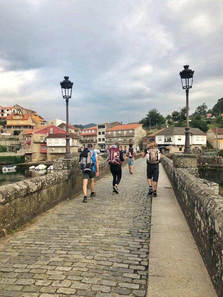 Cammino portoghese Porto Santiago - pellegrini