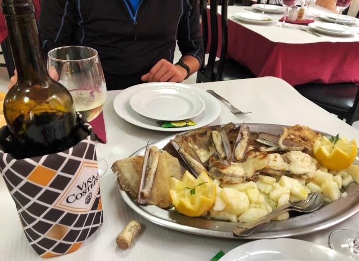 Pranzo a Finisterre