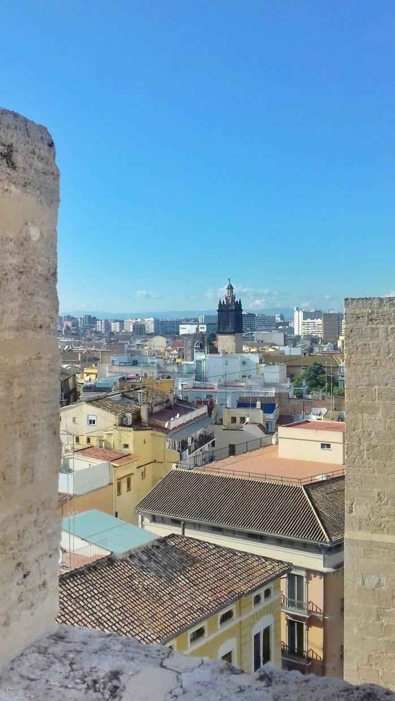 Valencia - vista dalle Torri de Serranos