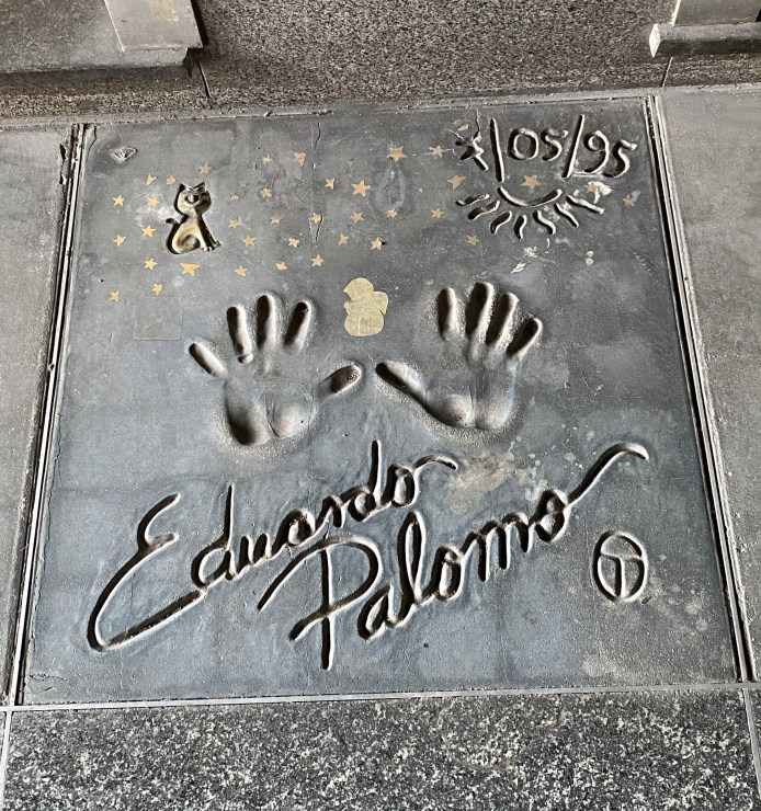 Milano nascosta - Walk of Fame - Eduardo Palomo
