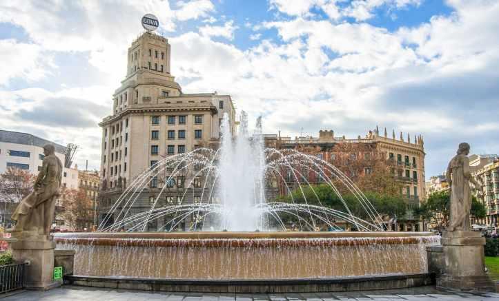 Plaza de Catalunya Barcellona