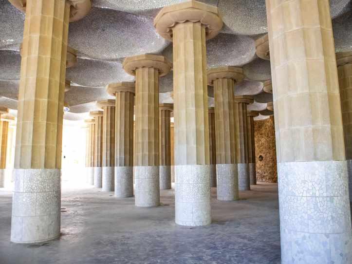Tempio-dorico-Parc-Guell