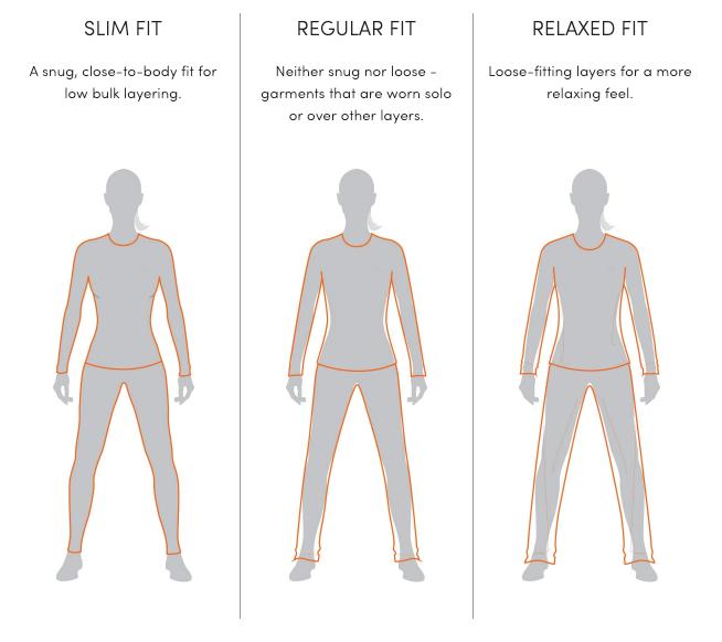 Icebreaker Women's Fit Guide