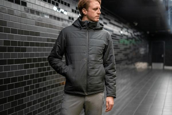 Woolly Clothing Men's Merino LOFT Puffy