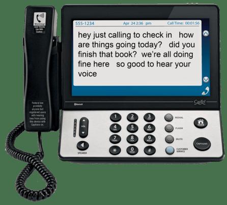 CapTel telephone