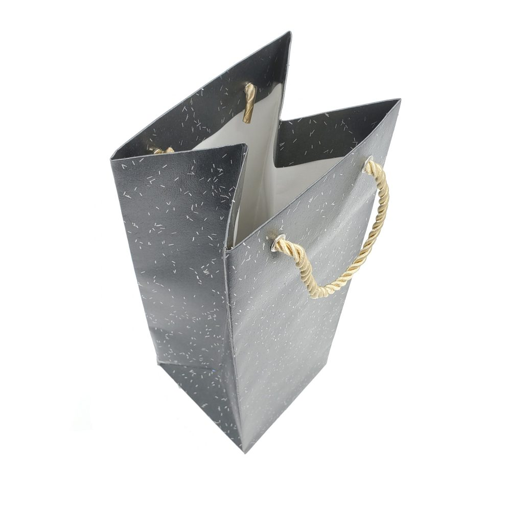 Fancy Paper Carrier Bag with PP Cord