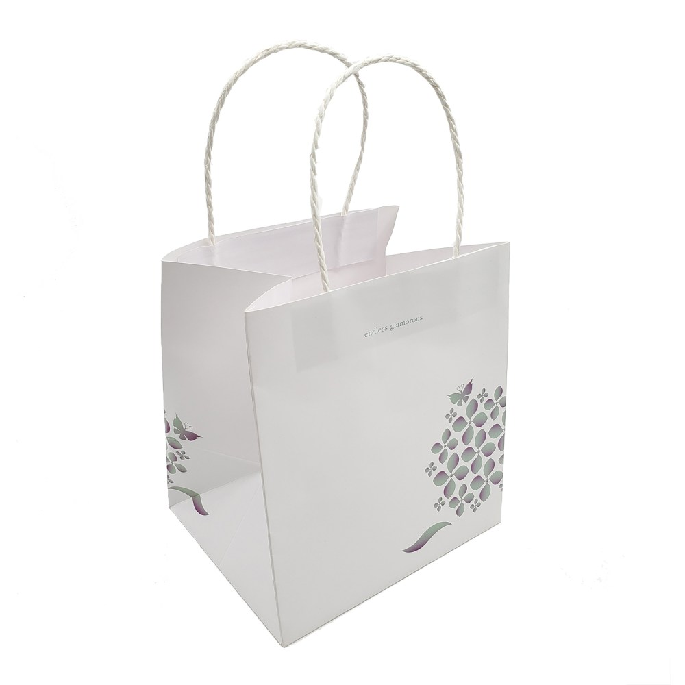 Paper Carrier Bag with Paper Cord