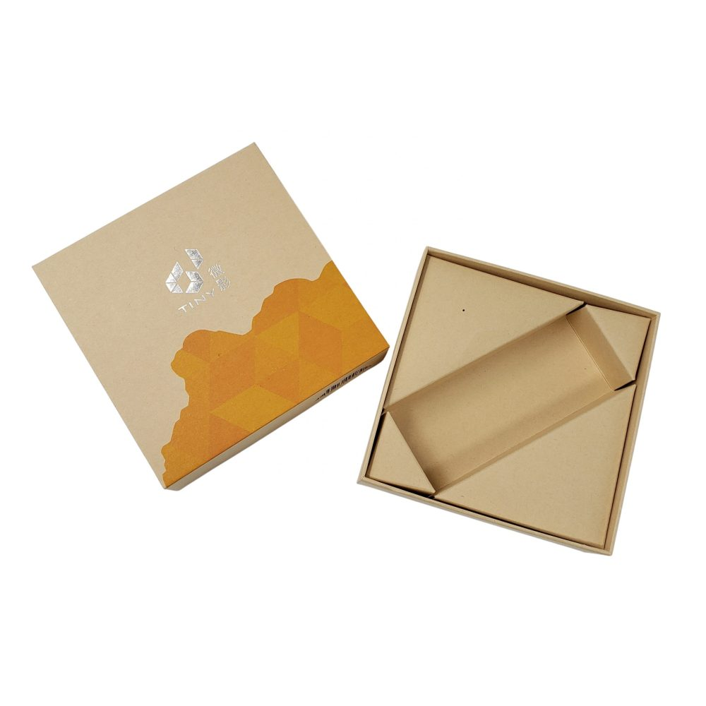Lid & Base Box with Paper Insert