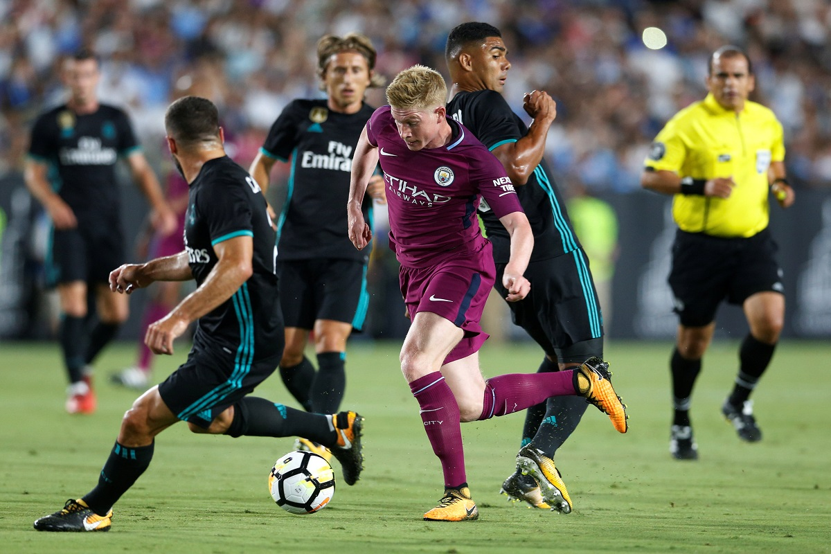 Manchester City 4-1 Real Madrid