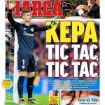 Kepa como arma arrojadiza contra el Madrid