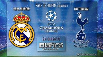 Live Real Madrid-Tottenham | Jornada 03 UEFA Champions League