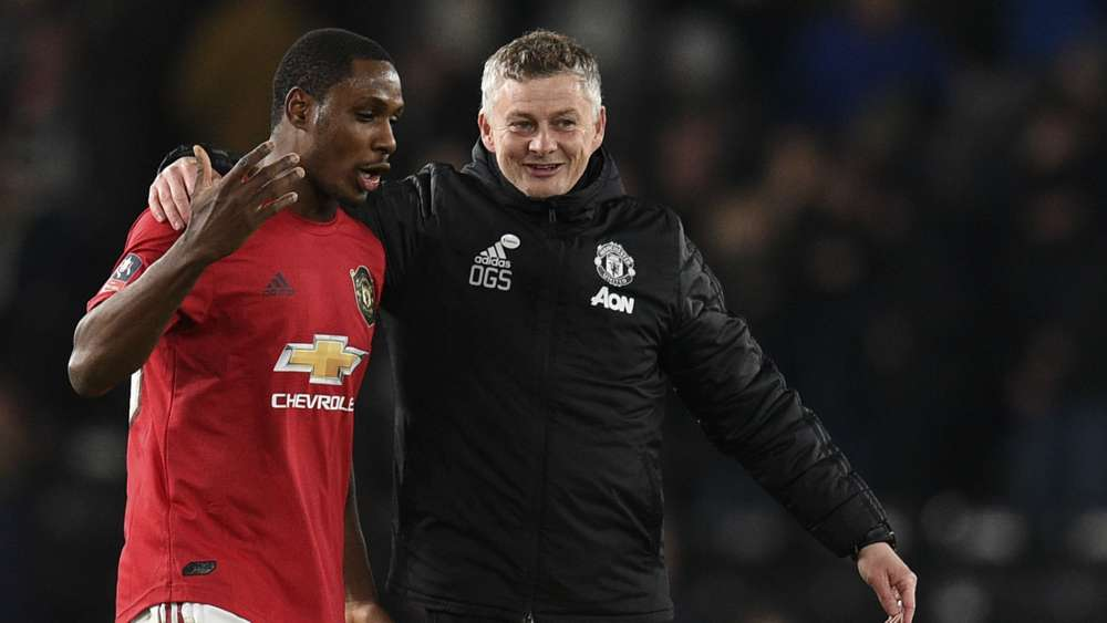 ighalo and Manchester United boss
