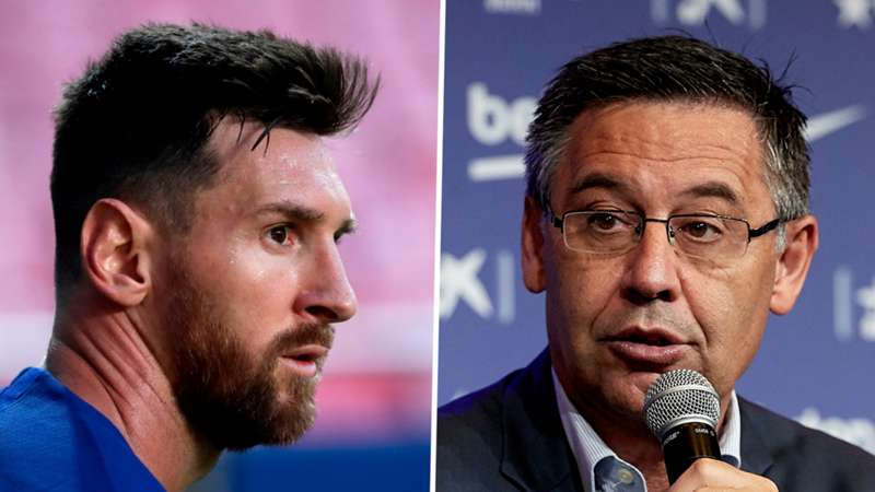 messi and barca president