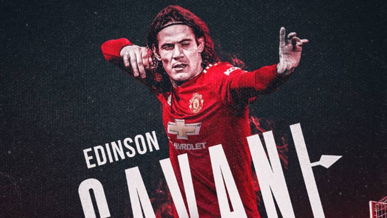 Manchester United extend Edinson Cavani contract, keeping him at the club until June 2022