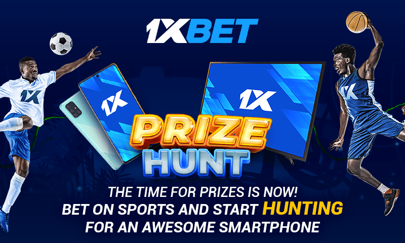 Join 1xBet's Prize Hunt Promotion for Awesome Rewards