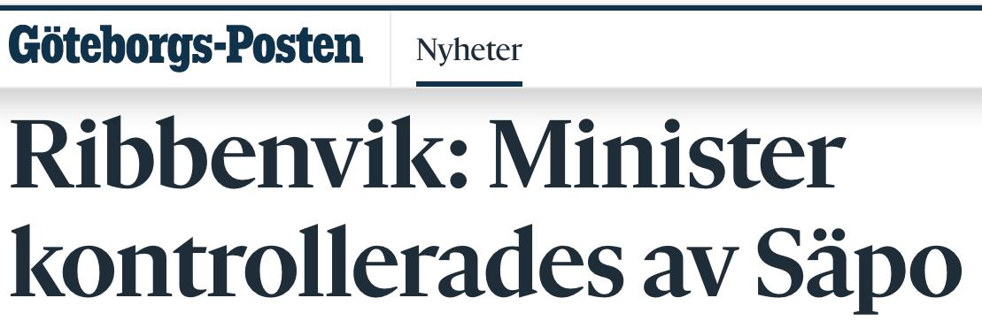 """Några miggor: """"Det var först 2016 som Migrationsverket inrättade ärendeföredragningar för Säpo i ärenden med """"indikationer""""."""