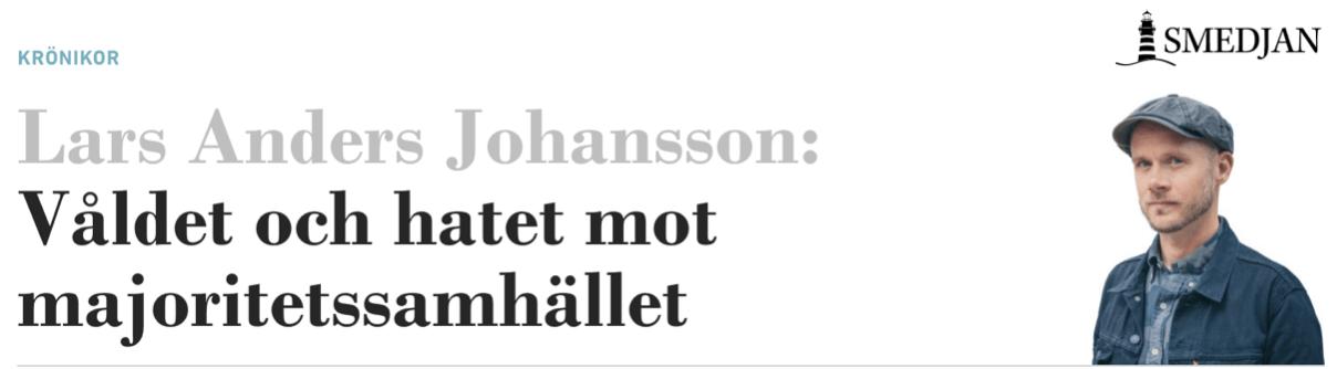 Om våld, förnedring och grymheter mot det svenska majoritetssamhället