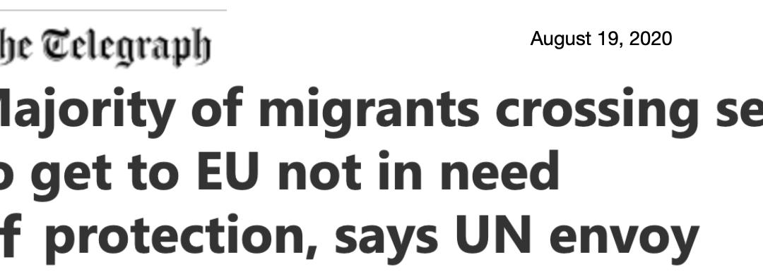 """UNHCR:s specialsändebud: """"En rättssäker återsändandemekanism måste införas annars kommer hela asylsystemet att ifrågasättas."""""""