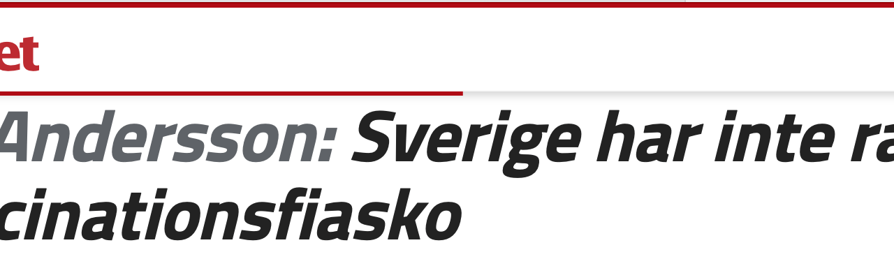 "Sverige. ""The best predictor of future behaviour is past behaviour."""
