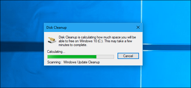 Why Disk Cleanup