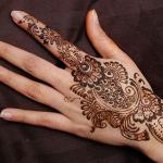 mehndi simple design 2018