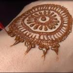 easy simple mehndi design