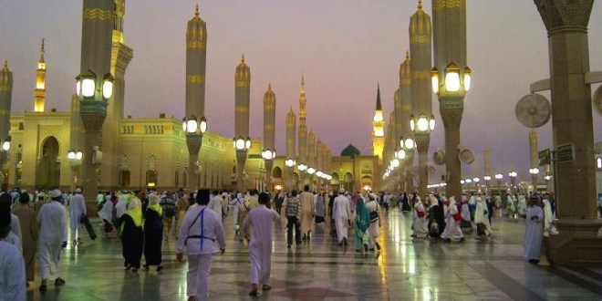 holy places of islam in makkah and madinah