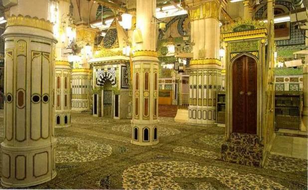 Riadhul-Jannah-in-Masjid-e-Nabwi