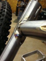 seat tube welds